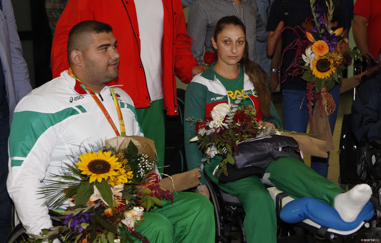 България посрещна  олимпийски шампион от  параолимпиадата в Рио
