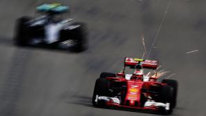 Аривабене защити Ферари след изпуснатия подиум от Райконен