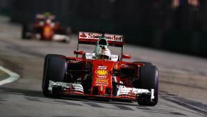 Фетел не е изгубил вяра във Ферари