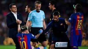 Треньорът на Аржентина скочи на Барса заради Меси