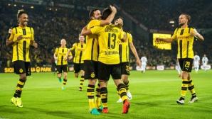 Борусия (Д) диша във врата на Байерн с трета поредна победа (видео)
