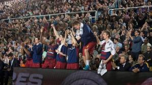 """Барселона и Везенков спечелиха баскетболното """"Ел Класико"""" и са на финал за Суперкупата"""