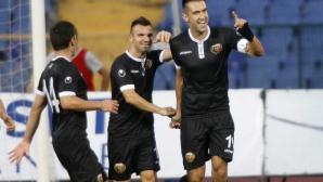 Локо (Пловдив) си тръгна с три точки от Бургас (видео)