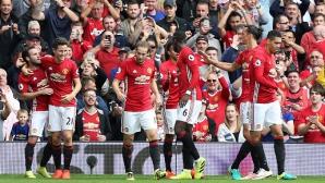 """Криза?! Юнайтед разби шампионите на """"Олд Трафорд"""" след впечатляващо полувреме (видео)"""