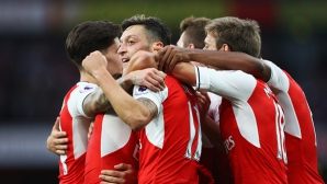 Арсенал подари гръмка победа на Венгер в дербито с Челси (видео)