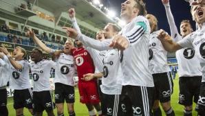 Розенборг шампион 5 кръга преди края
