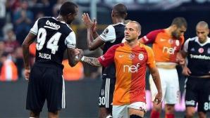 Драма без победител в дербито на Истанбул (видео)