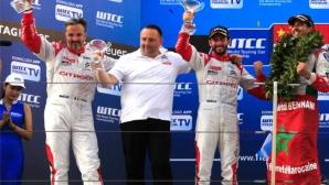 Citroen празнува третата си последователна титла в WTCC с троен подиум