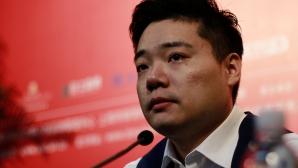 Емоции след триумфа на Дин Дзюнхуей