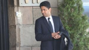 Изненада! Един от най-богатите хора в света дойде в България за Лудогорец - ПСЖ
