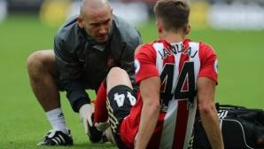 Съндърланд загуби за шест седмици привлечен от Ман Юнайтед