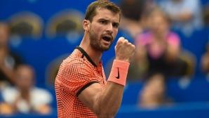 Григор се справи с кошмара и е на полуфинал в Китай