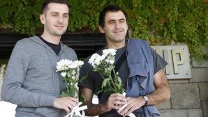 О'Съливан и Селби вече са на българска земя (ВИДЕО)