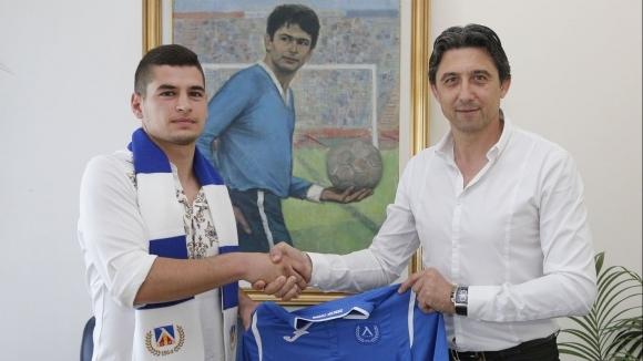 Иван Горановподписа договор за три години с отбора на Левски,