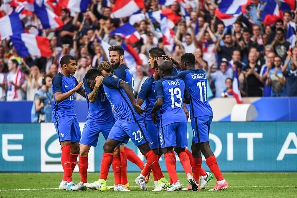 Снимка: Франция - Англия 0:0, гледайте тук!