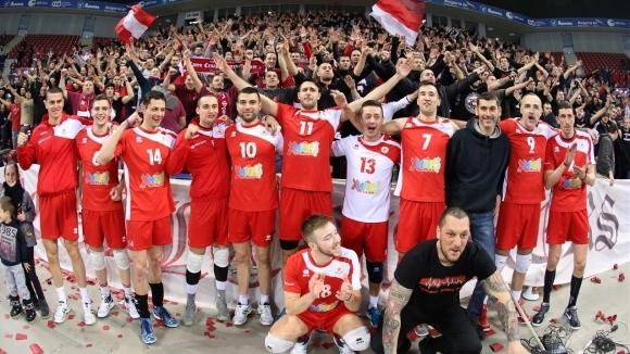 Вицешампионът на България ЦСКА изтегли повече от кошмарен жребия за