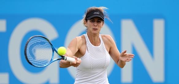 Цветана Пиронкова продължи днес участието си на турнира на трева