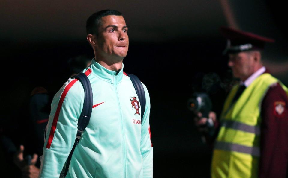 Голямата звезда на Реал Мадрид Кристиано Роналдо твърдо е взел