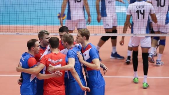 Националният отбор на Сърбия по волейбол записа 6-ата си победа