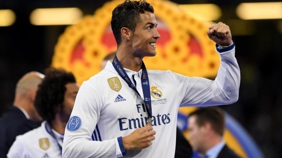 Голмайсторът на Реал Мадрид Кристиано Роналдо засега е твърд в