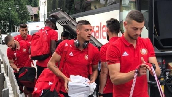 Отборът на ЦСКА-София пристигна в Австрия и се настани в