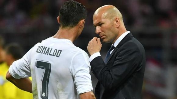 Треньорът на Реал Мадрид Зинедин Зидан е опитал в частен