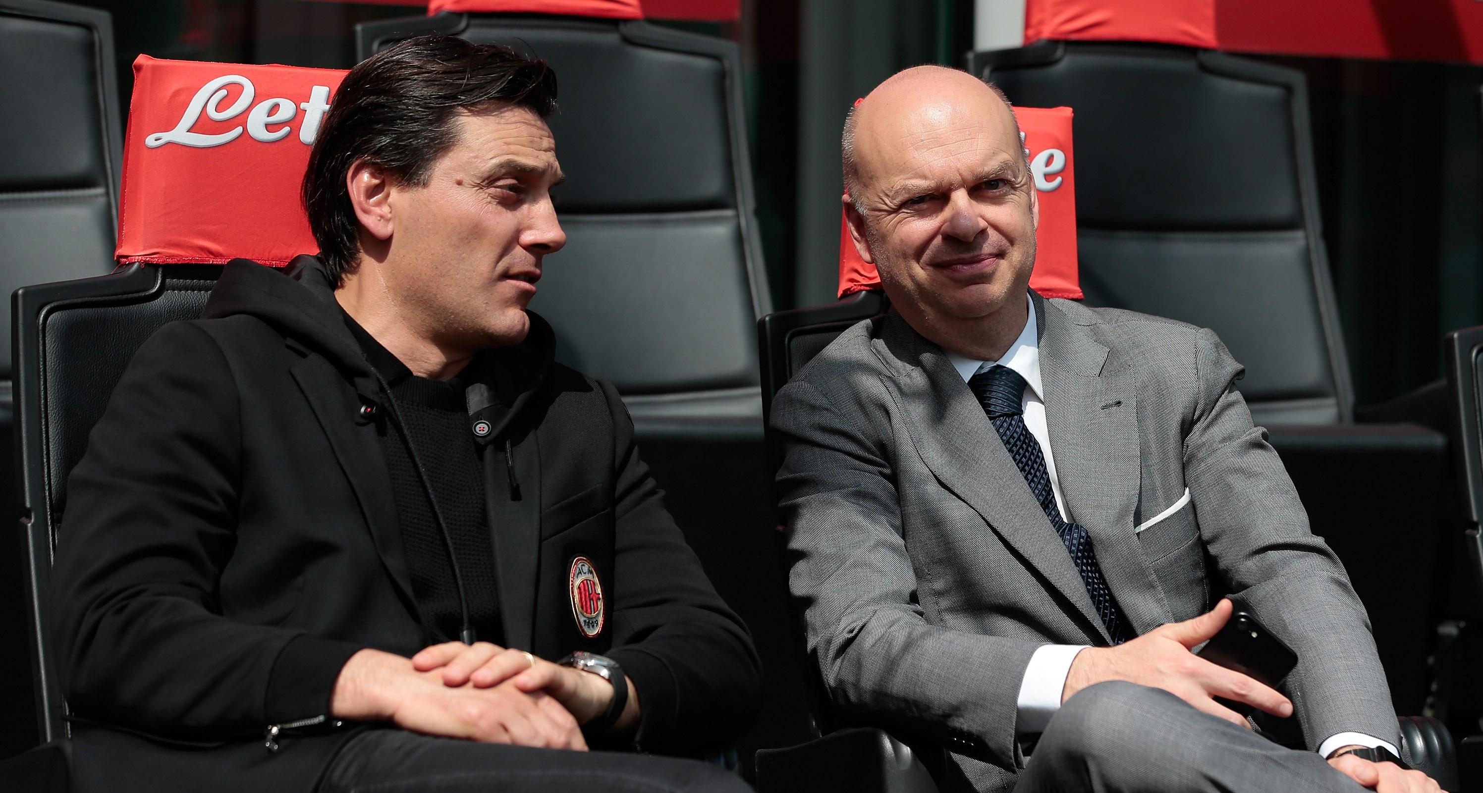 Ръководството на Милан в лицето на изпълнителния директор Марко Фасоне