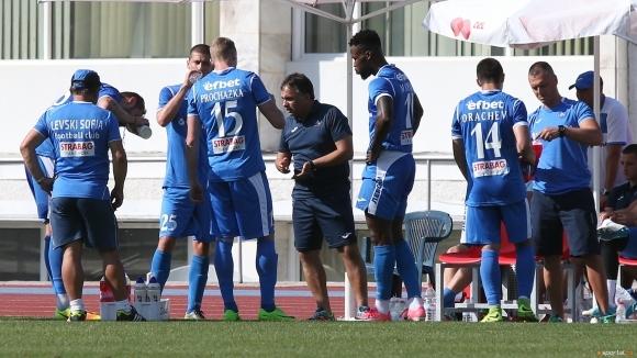Снимка: Митов разочарован: Бурабия не иска да играе повече за Левски