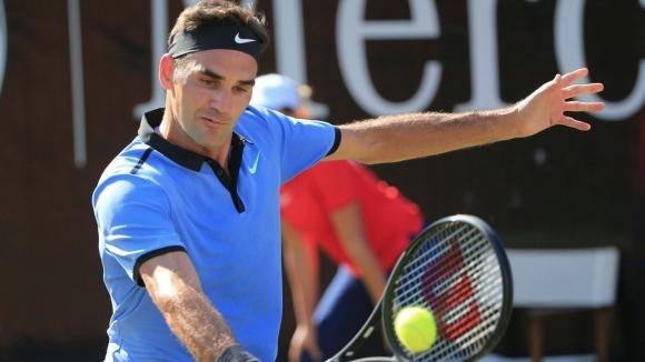 Роджър Федерер стартира успешно любимия си турнир в Хале от