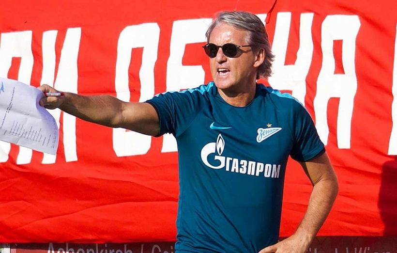 Треньорът на Зенит Санкт Петербург Роберто Манчини определи като нормална