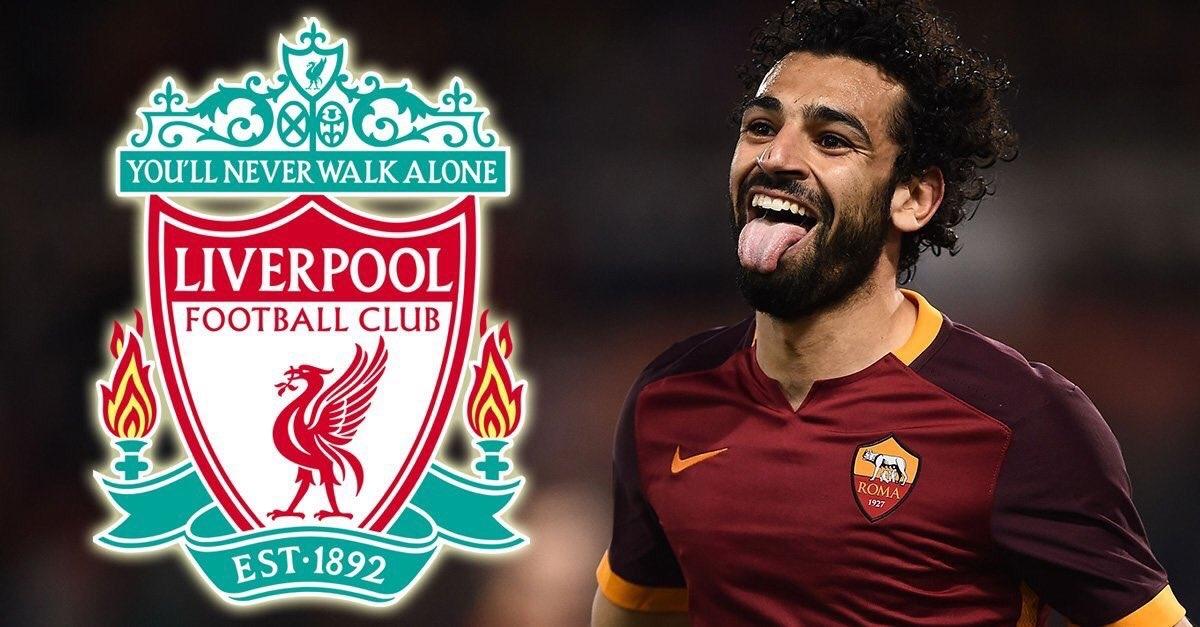 Крилото на Рома Мохамед Салах най-сетне пристигна в Ливърпул, информира