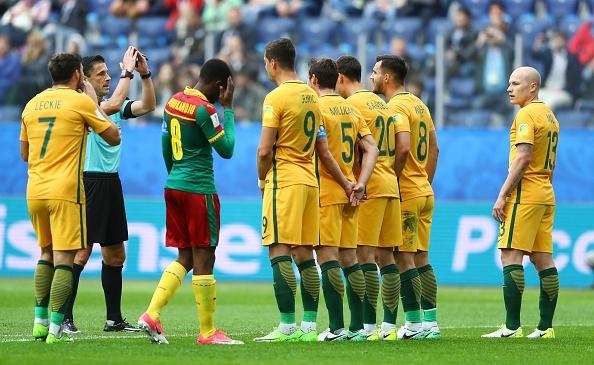 Отборите на Камерун и Австралия се изправят един срещу друг