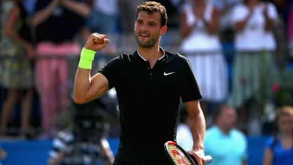 Григор Димитров се класира на полуфиналите на тенис турнира от