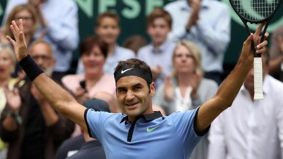 Роджър Федерер спечели безпрецедентната 9-а титла на тенис турнира от