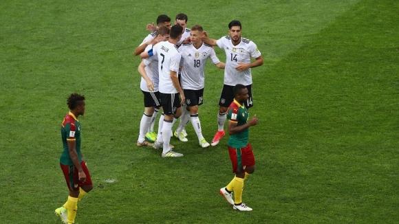 Снимка: Германия - Камерун