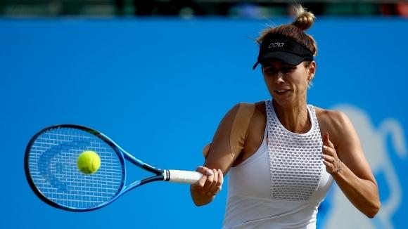 Най-добрата българска тенисистка Цветана Пиронкова се изкачи с две места