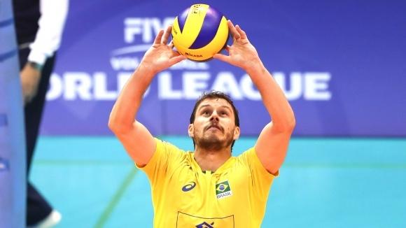 Най-голямата звезда на настоящия национален отбор по волейбол на Бразилия