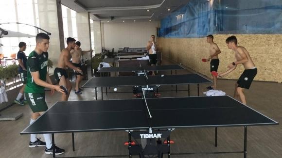 Националният отбор на България до 19 години направи възстановяване тази