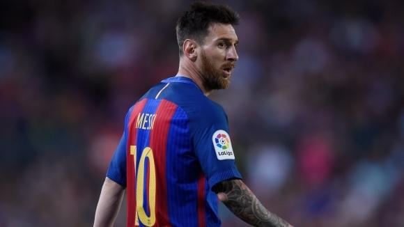 Аржентинската суперзвезда Лионел Меси и Барселона най-сетне си стиснаха ръцете