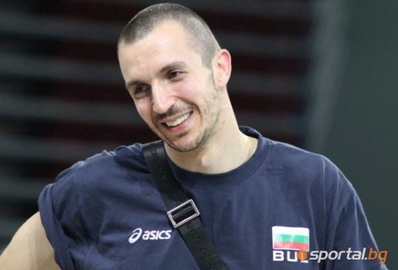 Националният волейболен отбор на България ще бъде без опитния диагонал