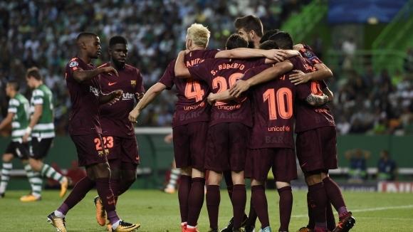 Отборите на Спортинг (Лисабон) и Барселона излизат в мач от