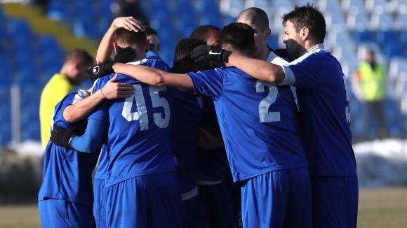 Мъжкият отбор на Общински футболен клуб Спартак (Плевен) вече е