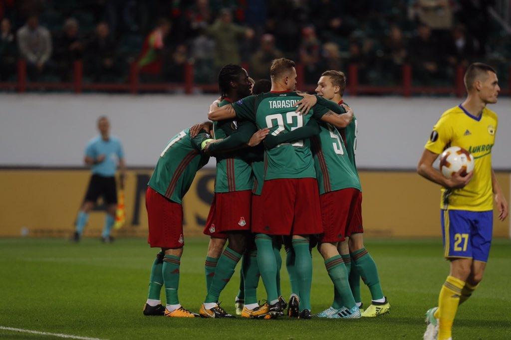 Носителят на Купата на Русия Локомотив (Москва) срази с 3:0