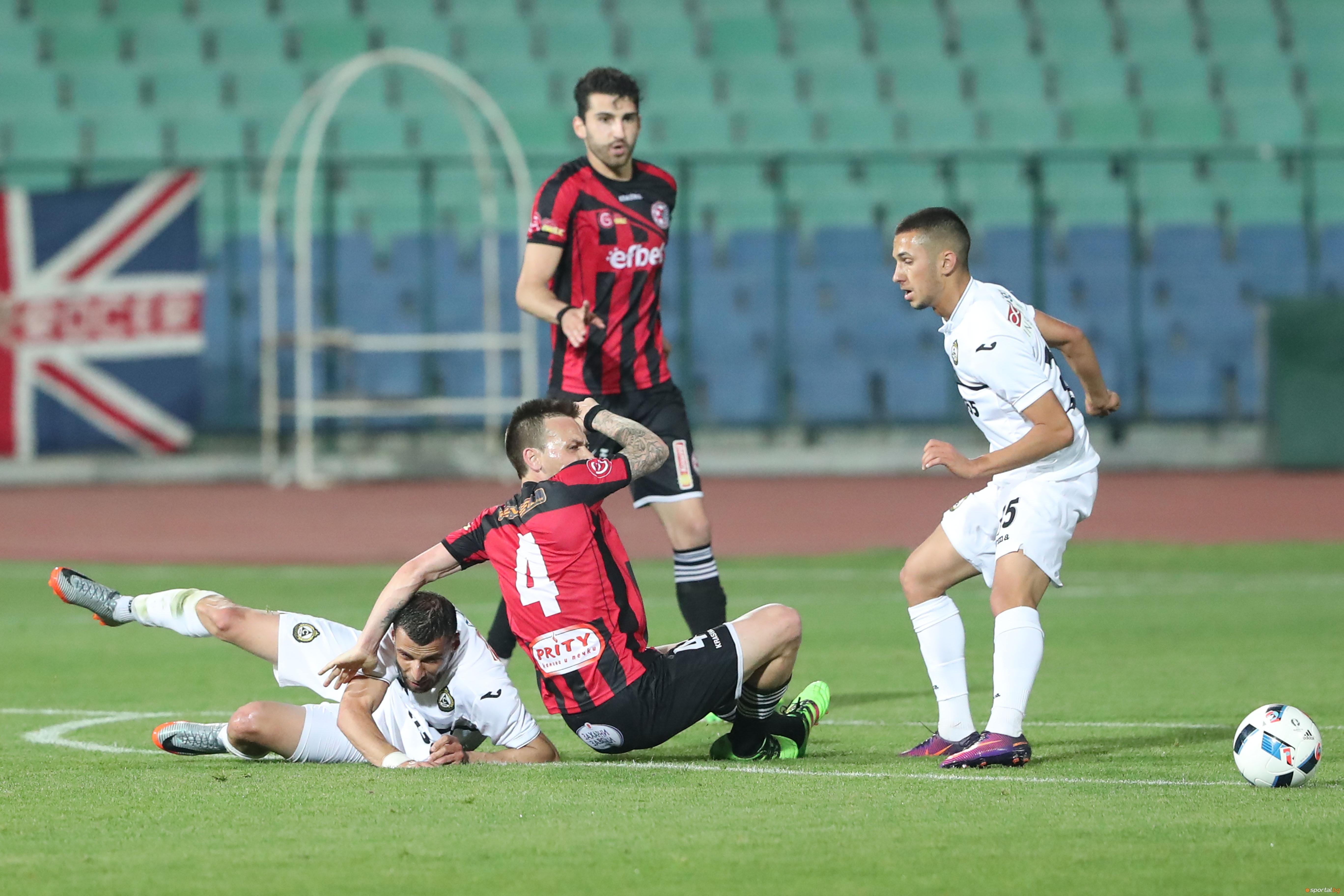 Отборът на Марица (Пловдив) победи с 3:1 Локомотив (Горна Оряховица)