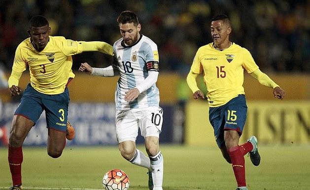 Грандиозното представяне на Лионел Меси срещу Еквадор преди дни не