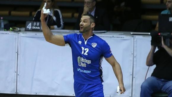 Отборът на Левски записа първа победа във волейболната Суперлига на