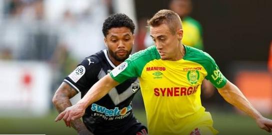 Отборите на Бордо и Нант завършиха наравно 1:1 в мача
