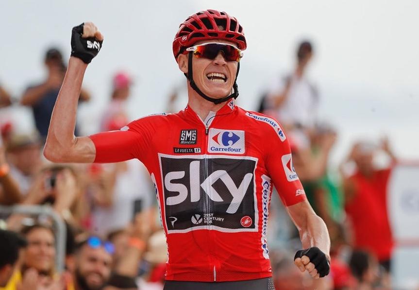 Британецът Крис Фрум, четирикратен шампион от Тур дьо Франс, спечели