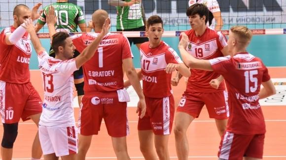 Шампионите на България от Нефтохимик 2010 (Бургас) записаха трета поредна