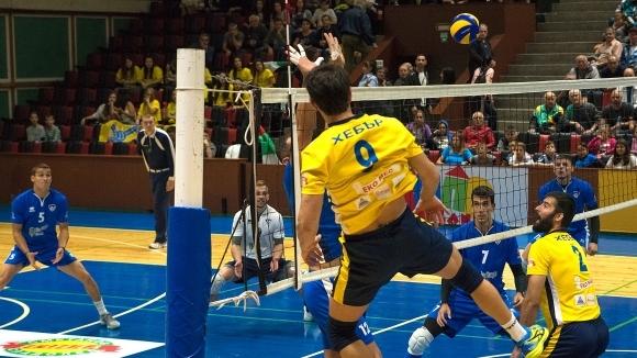 Новакът във волейболната Суперлига на България Хебър (Пазарджик) записа страхотна